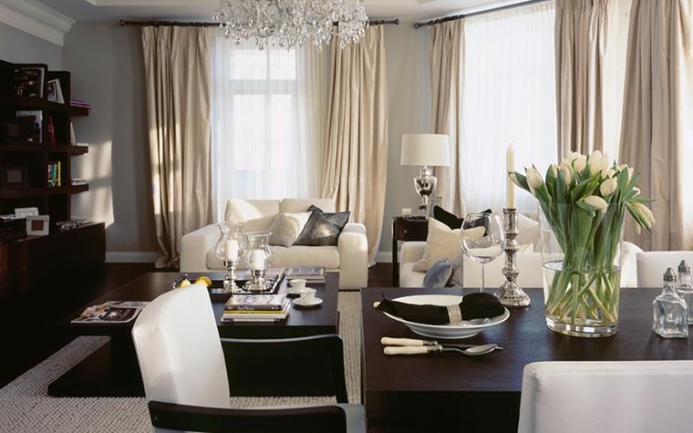 Фото № 12919 гостиная  Квартира