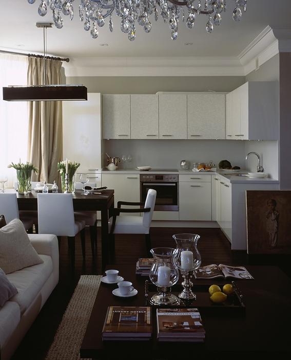 Квартира. столовая из проекта , фото №12929