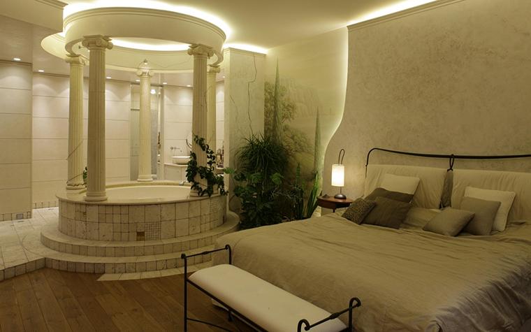 Квартира. спальня из проекта , фото №13039