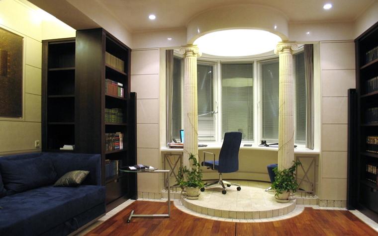 Квартира. кабинет из проекта , фото №13044