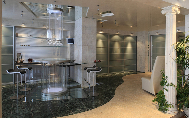 Квартира. кухня из проекта , фото №13033