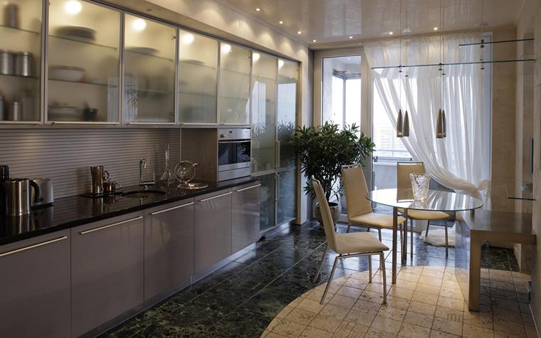 Квартира. кухня из проекта , фото №13037