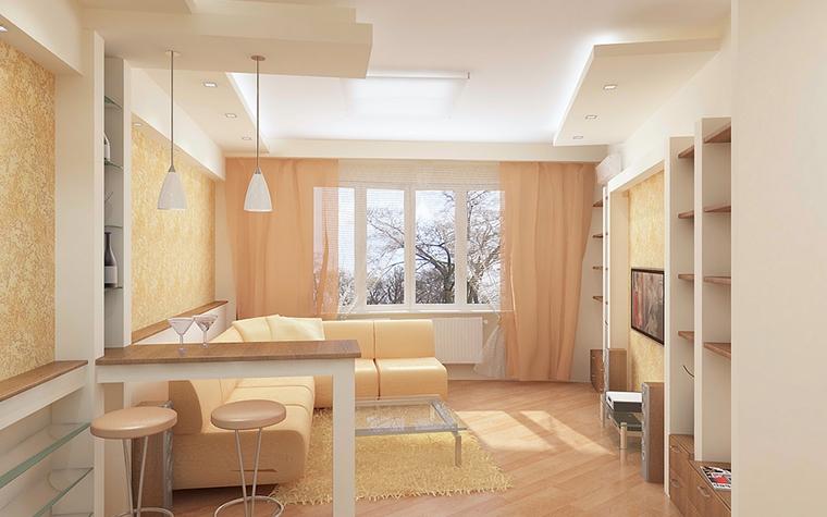 интерьер гостиной - фото № 13090