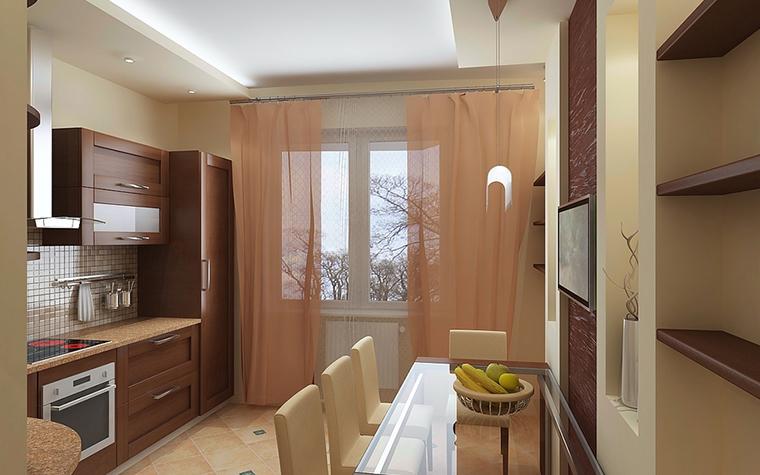 Квартира. кухня из проекта , фото №13087
