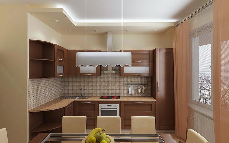 Квартира. кухня из проекта , фото №13088