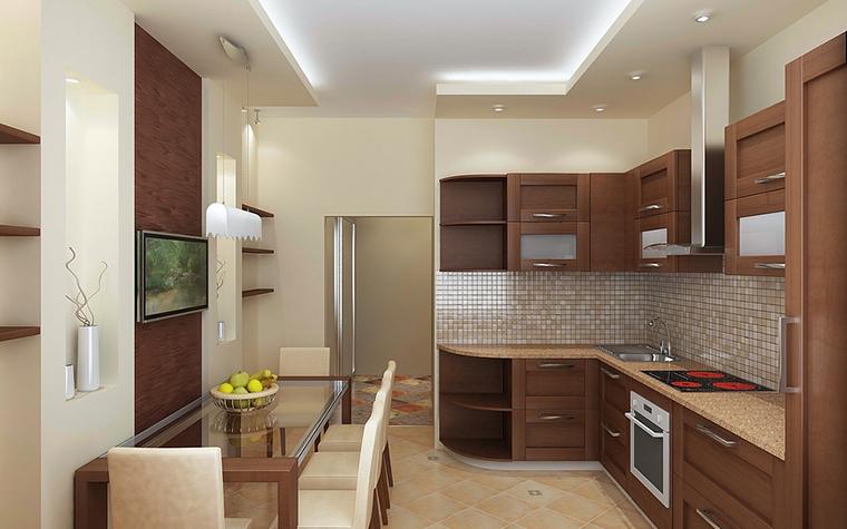 Квартира. кухня из проекта , фото №13089