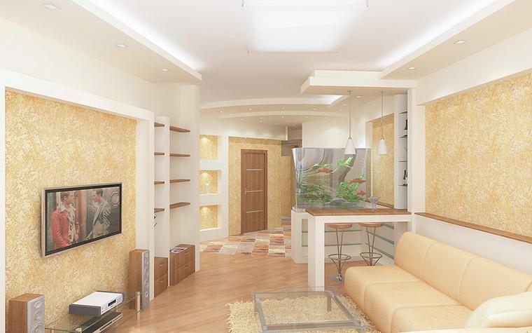 интерьер гостиной - фото № 13091