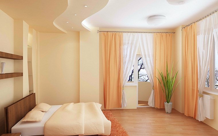 Фото № 13077 спальня  Квартира