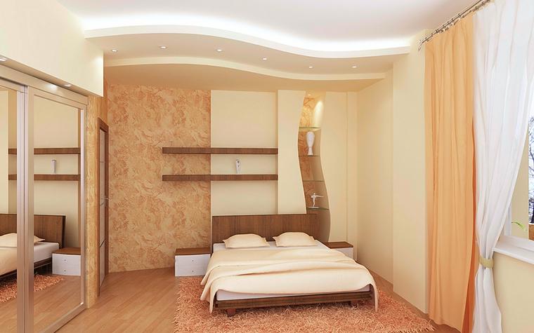 Квартира. спальня из проекта , фото №13078