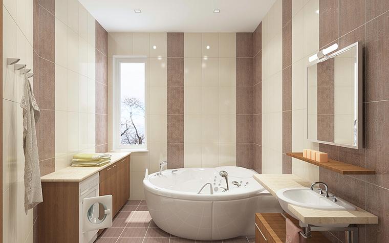Квартира. ванная из проекта , фото №13080