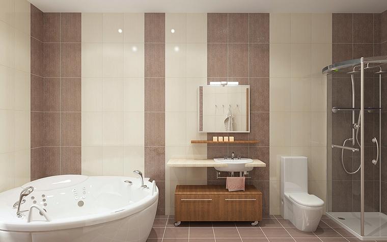 Квартира. ванная из проекта , фото №13081