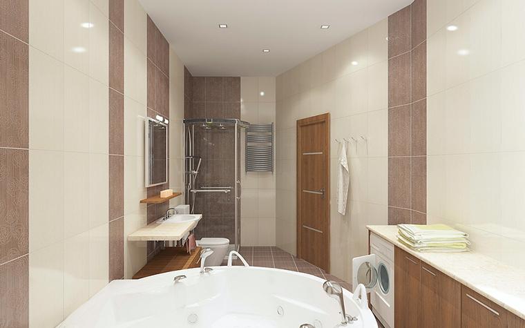 Квартира. ванная из проекта , фото №13083