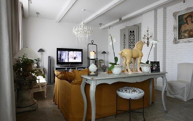 интерьер гостиной - фото № 13171