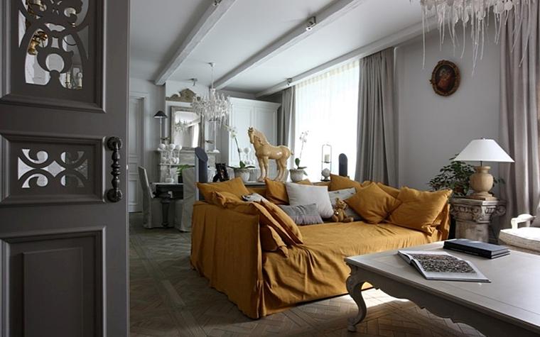 Квартира. гостиная из проекта , фото №13172