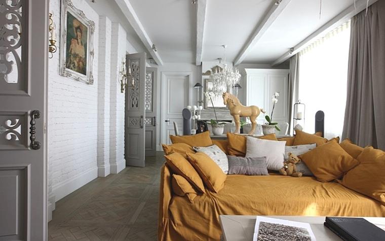 Квартира. гостиная из проекта , фото №13173