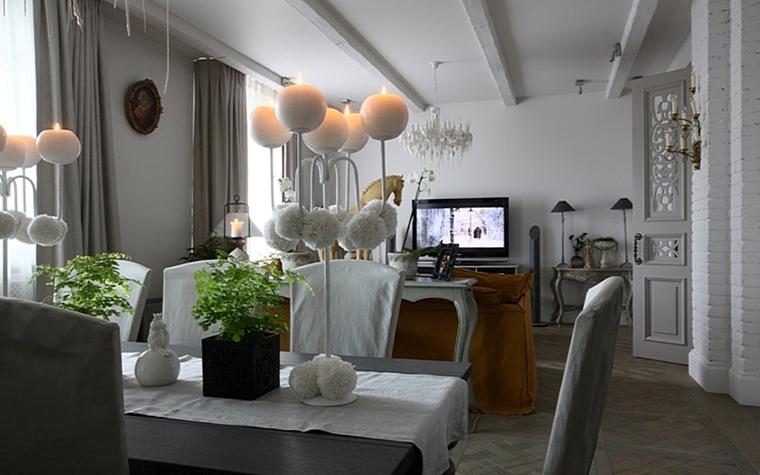 Квартира. гостиная из проекта , фото №13174