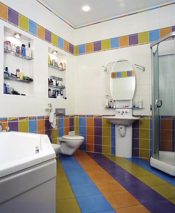 Квартира. ванная из проекта , фото №13328