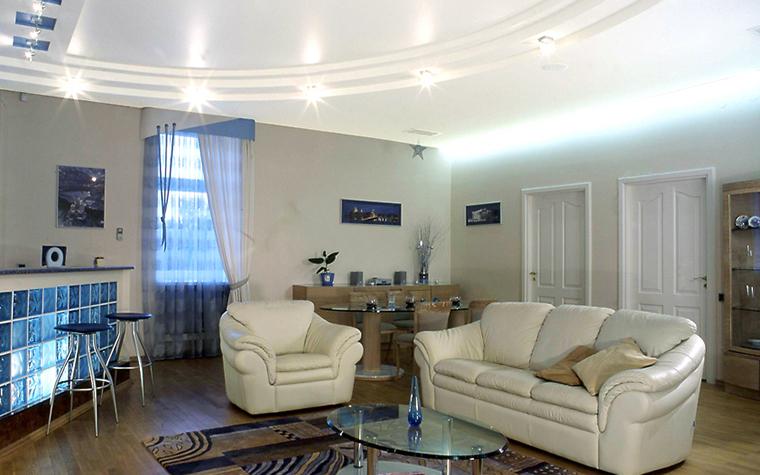 Квартира. гостиная из проекта , фото №13327