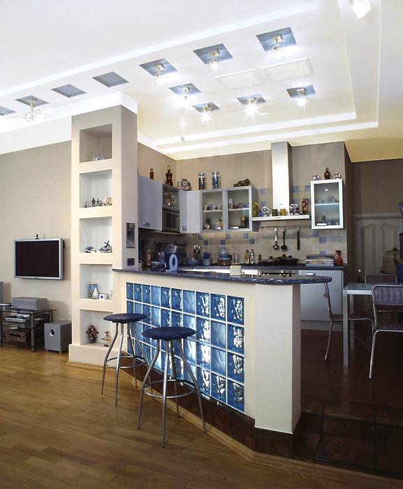 Квартира. кухня из проекта , фото №13329