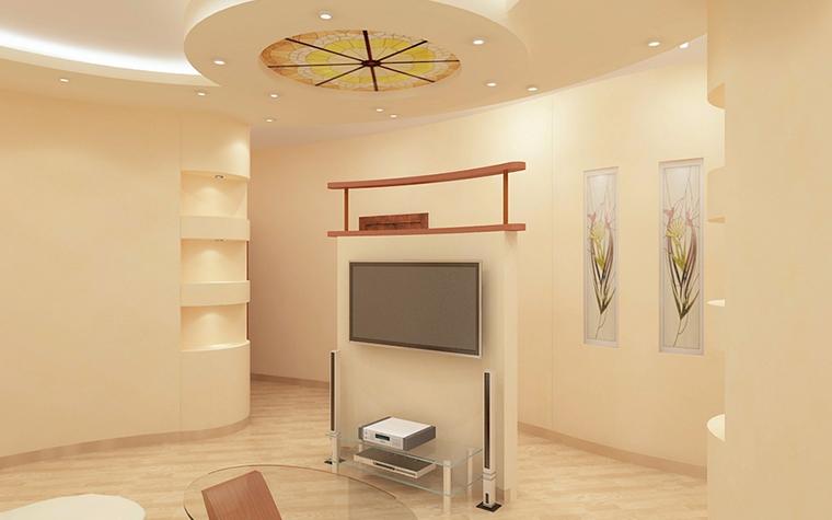 Квартира. гостиная из проекта , фото №13334