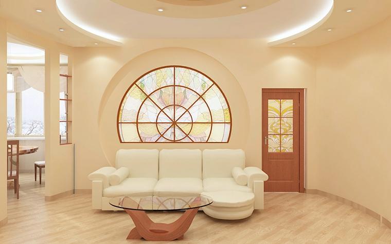 Квартира. гостиная из проекта , фото №13335