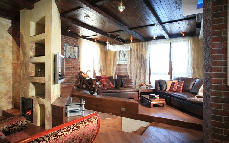 Фото № 13355 гостиная  Квартира