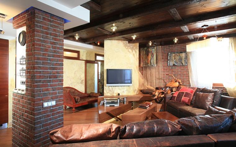 Фото № 13357 гостиная  Квартира