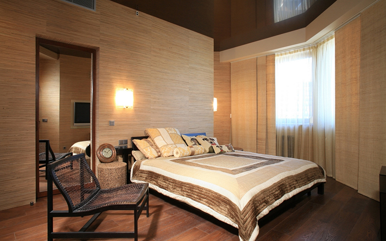 Квартира. спальня из проекта , фото №13371