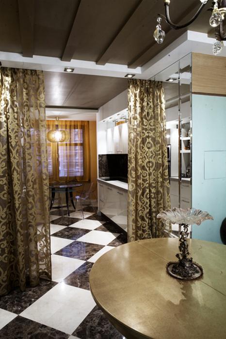 Квартира. столовая из проекта , фото №13493