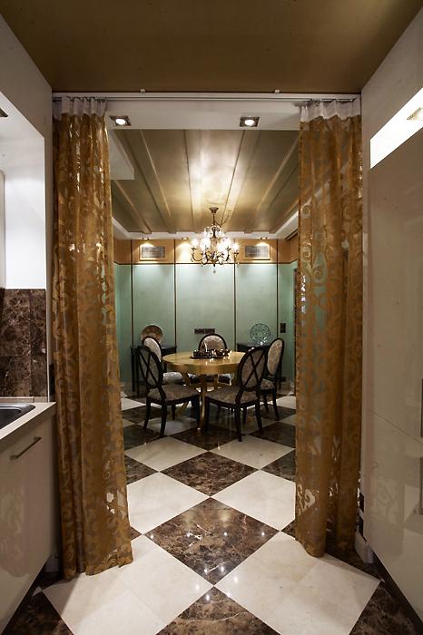 Квартира. столовая из проекта , фото №13495