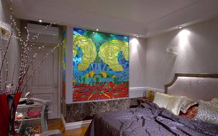 Квартира. спальня из проекта , фото №13496