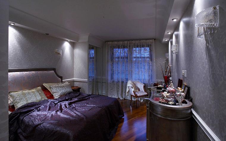 Квартира. спальня из проекта , фото №13497