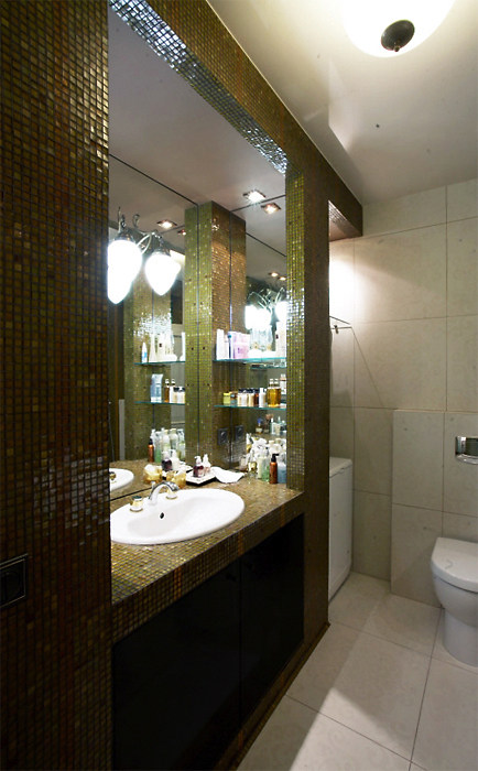 Квартира. ванная из проекта , фото №13500