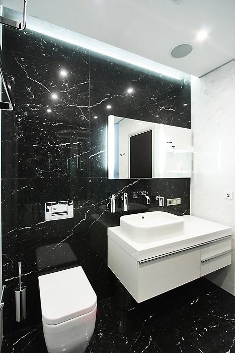 Квартира. ванная из проекта , фото №13522