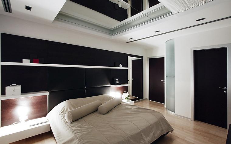 Квартира. спальня из проекта , фото №13529
