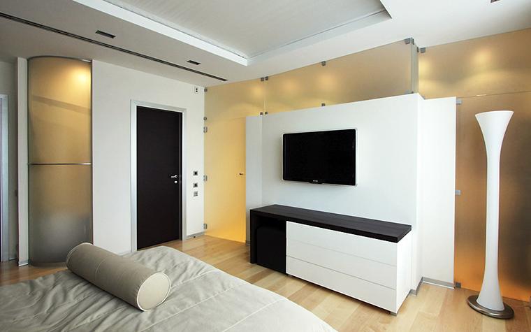 Квартира. спальня из проекта , фото №13530