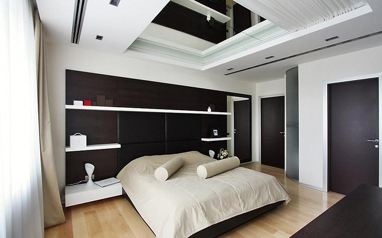 Квартира. спальня из проекта , фото №13531