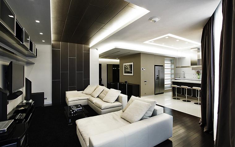 интерьер гостиной - фото № 13511