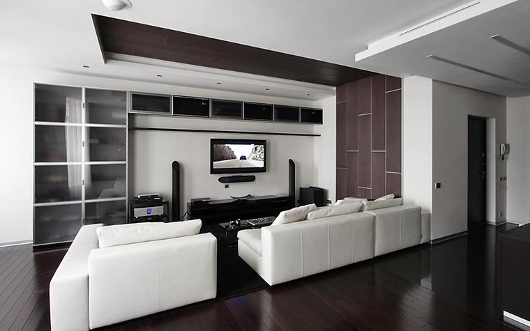 интерьер гостиной - фото № 13512