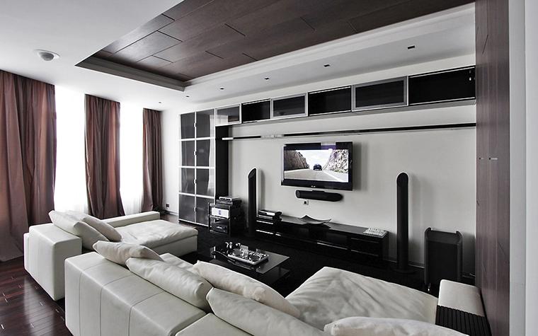 интерьер гостиной - фото № 13513