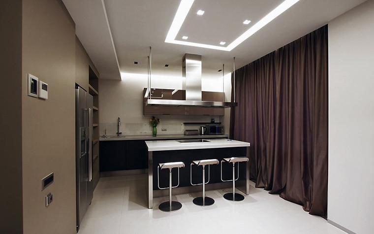 Квартира. кухня из проекта , фото №13516