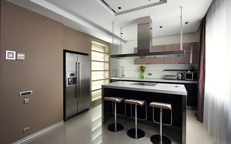 Квартира. кухня из проекта , фото №13517