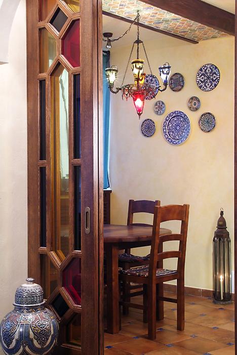 Квартира. столовая из проекта , фото №13542