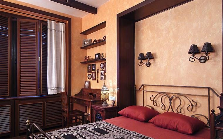 Квартира. спальня из проекта , фото №13535