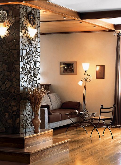 Квартира. гостиная из проекта , фото №13556