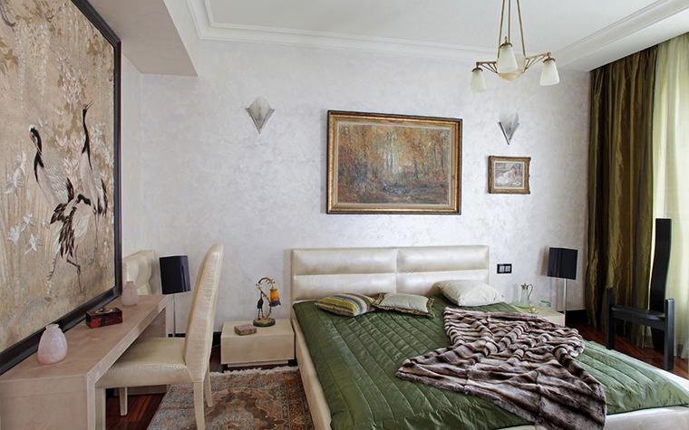 Квартира. спальня из проекта , фото №13606