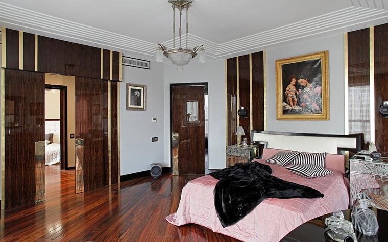 Квартира. спальня из проекта , фото №13614