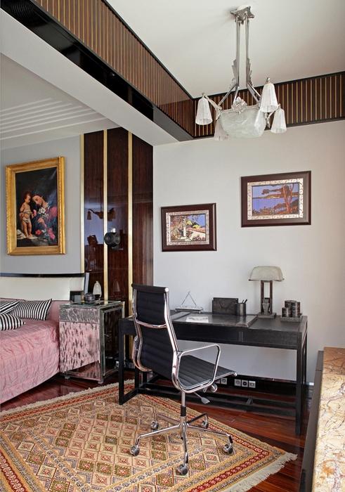 Квартира. спальня из проекта , фото №13615
