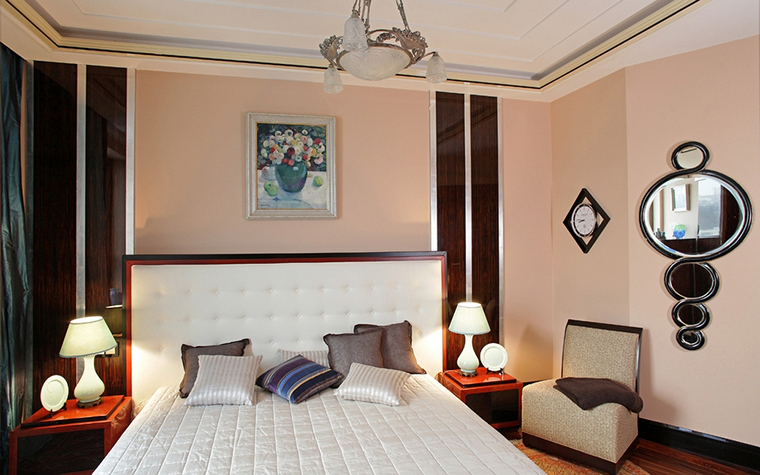 Квартира. спальня из проекта , фото №13616