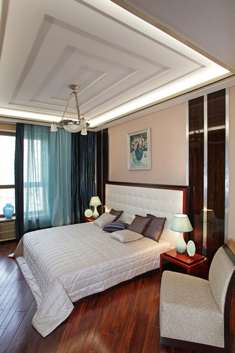 Квартира. спальня из проекта , фото №13617